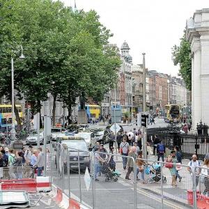 Reges Treiben in Dublin ...