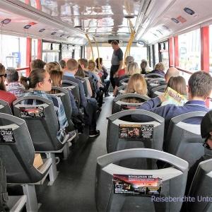 ... und weiter geht es mit dem Sightseeingbus ...