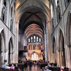 St. Patrick's Cathedral in Dublin ...