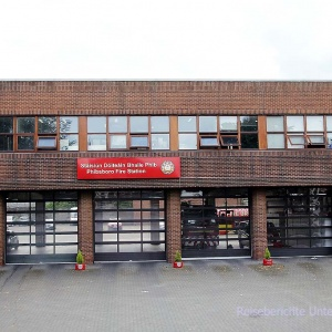 Feuerwehrhäuser sind immer interessant ...