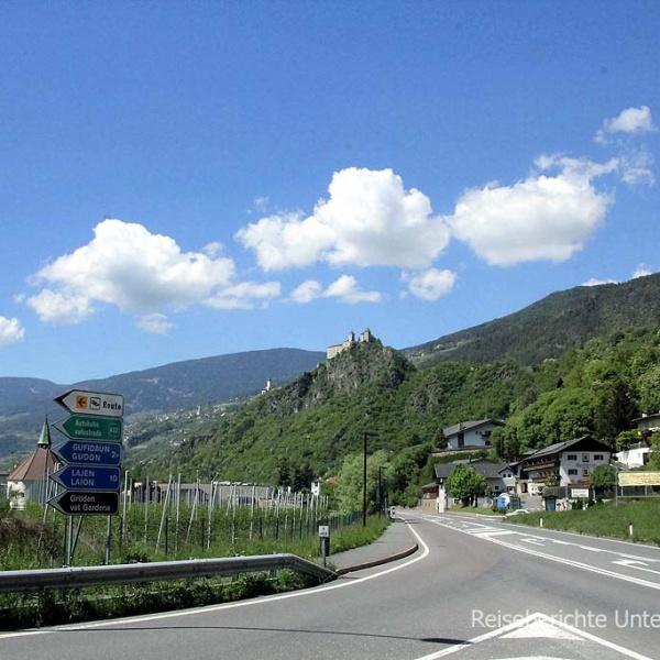 Fahrt durch Südtirol ...