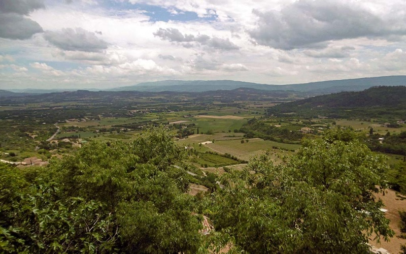 Die Provence liegt uns zu Füßen ...