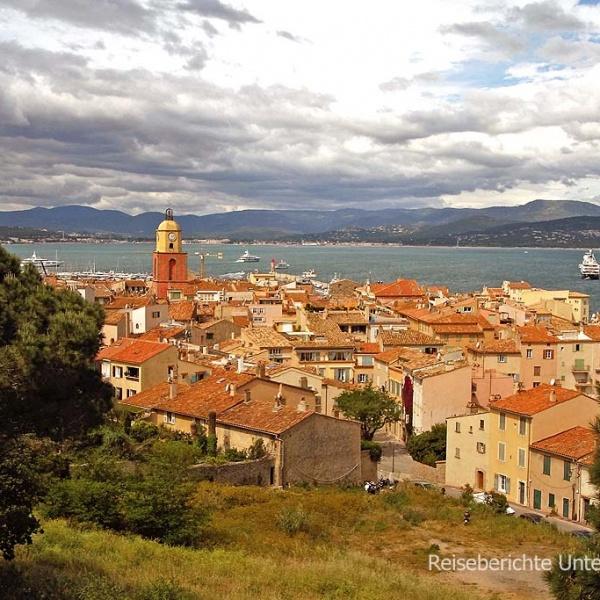 St. Tropez von oben ...