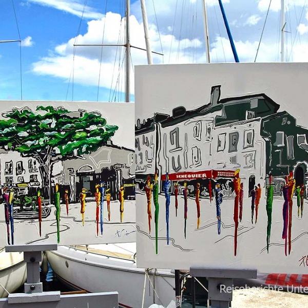 Malerisch - St. Tropez ...