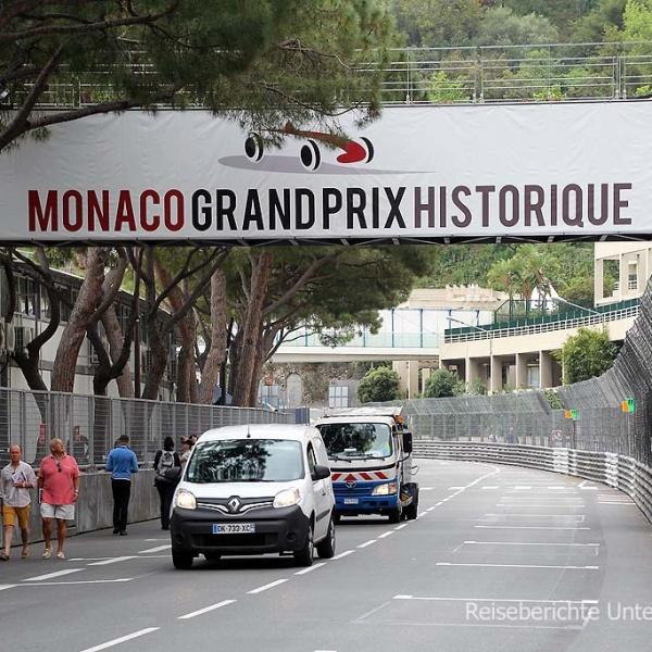 Grand Prix-Stimmung in Monaco ...
