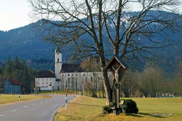 """""""Wieskirche"""" in der Nähe von Steingaden ..."""