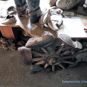 ... ob der Künstler mal Schuhmacher war?