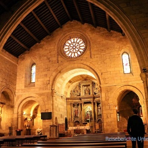 Igrexa de Santiago in La Coruña