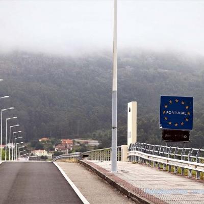 Rio Miño - die Grenze zwischen Spanien und Portugal