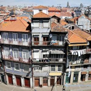 Die Altstadt von Porto ...
