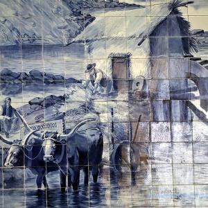 Azulejos - Wandfliesengemälde ...