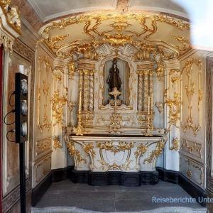 Der Goldene Altar in der Clérigos-Kirche