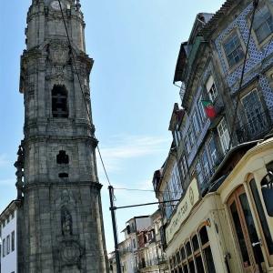 Torre dos Clérigos - der höchste Kirchturm der Stadt ...