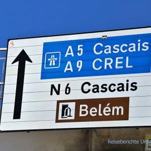 """Mit dem gelben Bus geht es auch """"raus"""" nach Belém ..."""