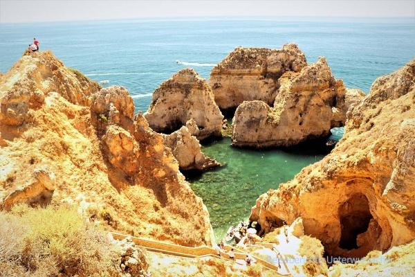 ... eine der meist fotografierten Küste Portugals ...