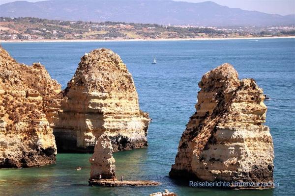 Die Algarve wie man sie kennt ...