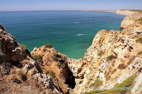 Ponta de Piedade in der Algarve ...