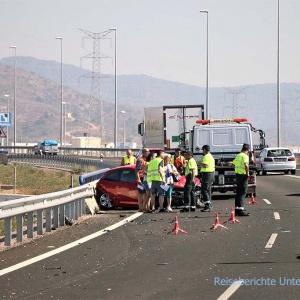 ... leider auch immer wieder Unfälle, die zur Vorsicht mahnen ...