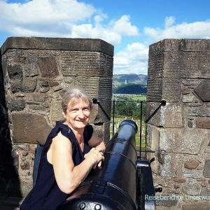 Schöne Burg, schöne Aussicht, schönes Wetter - was will man mehr ...