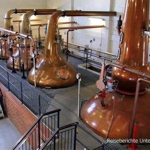Interessante Führung in der Talisker Distillery ...