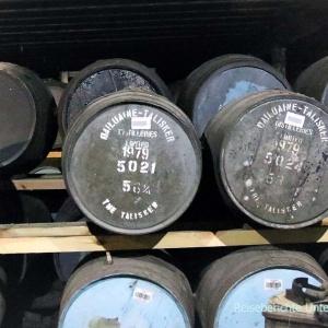 Whisky-Fässer in Talisker ....