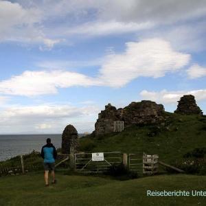 Sehr verfallen - Duntulm Castle