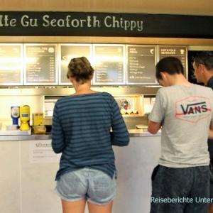 Ullapool: Fish & Chips in allen Variationen ...