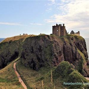eine geschichtsträchtige Burg jagt die andere - Dunnottar Castle ...