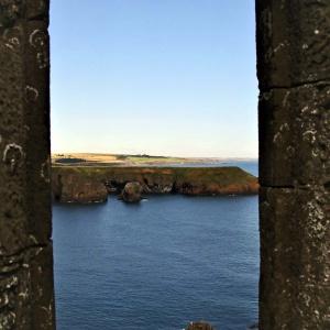 Dunnottar Castle - wo sind die Feinde ...