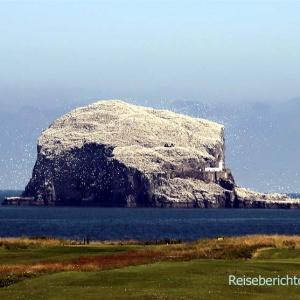 "North Berwick: Der berühmte Vogelfelsen ""Bass Rock"" ..."