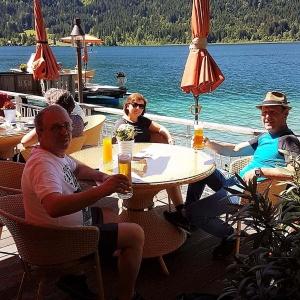 Wanderung um den Weißensee: Verdiente Stärkung ...