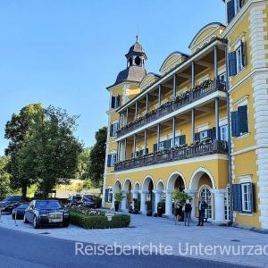Velden: Das Schloss am Wörthersee ...