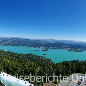 Pyramidenkogel: Herrliches Panorama Wörthersee ...