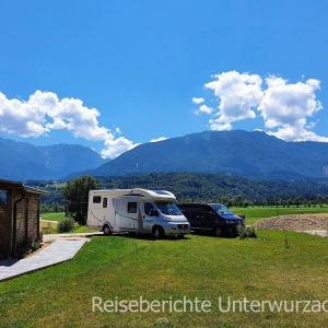 Auf der Fahrt in die Steiermark ...